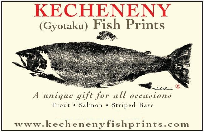 Kecheneny Fish Prints Shore Line Art Sea Fly Fishing Sport Japanese And Seafood Restaurant